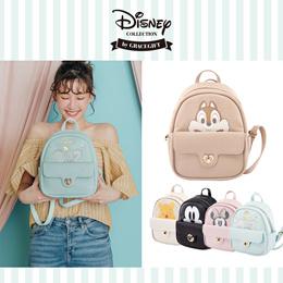 Gracegift-Disney Heart Lock Backpack/Women/Ladies/Girls Shoes/Taiwan Fashion