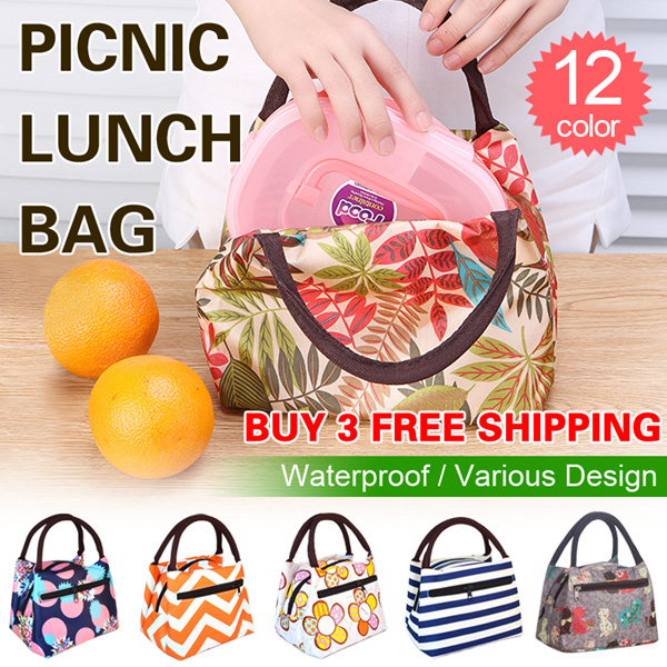 [BUY 3 FREE SHIPPING]Picnic Lunch Bag/Tote Bags/Hand bags/