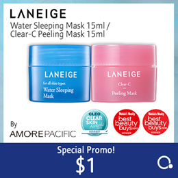 Last 20 pcs!!! reglular size $14.90  [Laneige] Sleeping Masks 70ml (By Amore Pacific) - 15ml soldout