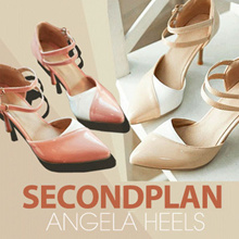 NEW COLLECTION # SECONDplan ANGELA HEELS #SEPATU WANITA # HIGH HEELS #ANGELA HEELS