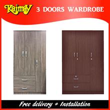 3 Door wardrobe at offer sales