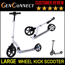 【IMPROVED MODEL】 PREMIUM ABEC 11/7 Ball Bearing DUAL Suspension Foldable Kick Scooter