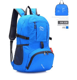 5e68d93aa1 Decathlon outdoor foldable skin bag 35L ultra light portable female mens  large capacity waterproof
