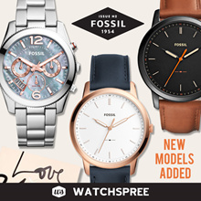 *FOSSIL GENUINE* Leather and Stainless Steel Watches for Men and Ladies. Free Shipping!