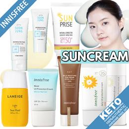 [innisfree/etude house/mamonde/laneige] suncream collection/lotion/stick/homme