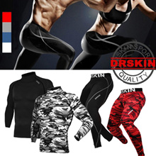 MADE IN KOREA/ DRSKIN UV BLOCKING 98.8%★swimming wear USA HIT★SPORTS WEAR Compression  rashguard Compression wear shirts pants tight skin gear sportswear under base layer long short