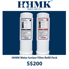 HHMK Water Ionizer 2 Refill Filters in a Pack [ Made in Korea ]