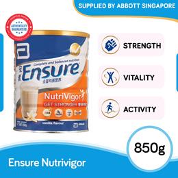 [Single Tin] Abbott Ensure NutriVigor 850g