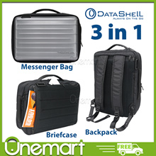 [DATASHELL] 3 in 1 Briefcase/ Backpack/ Messenger Bag ★ 3 Colours ★ Dynamic Shield Bag for 15.6 inch