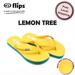 9d030548a  Flips™  Lemon Tree - Real rubber flip-flops   eco-friendly