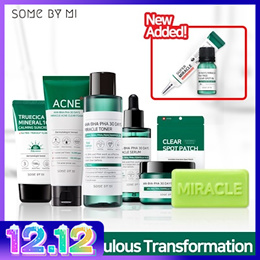 ▶NEVER BEFORE PRICE◀ [SOME BY MI] MIRACLE TONER/SERUM/CREAM/CLEANSING BAR/SPOT OIL/SPOT PATCH!