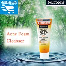 【Neutrogena】Deep Clean Acne Foam Cleanser 100g