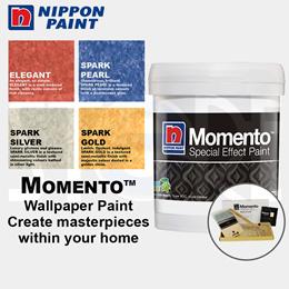 Nippon Momento - Special Effect Paint 1 Litre Set - Elegant