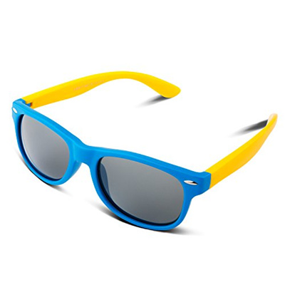 deb57451f5a  RIVBOS  Rubber Kids Polarized Sunglasses With Strap Shades Glasses for Boys  Girls Baby and