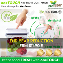 [SHOP + CART DISCOUNT!! | ecoWARE oneTOUCH Airtight Container | BPA free | Milk | Powder |