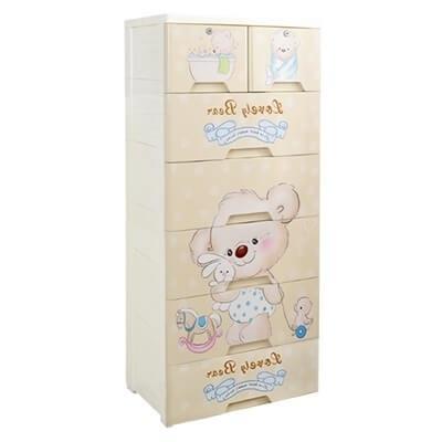 Love Bear Storage Drawer - 6 Tier