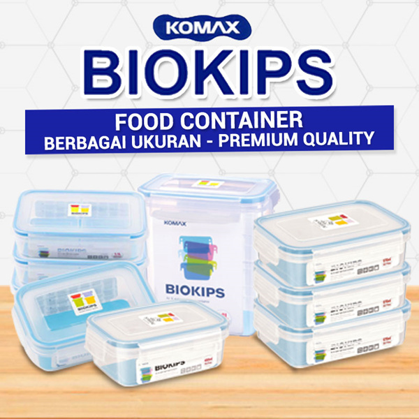DISC 20% [ Komax ] ANEKA FOOD CONTAINER RECTANGULAR Deals for only Rp71.600 instead of Rp71.600