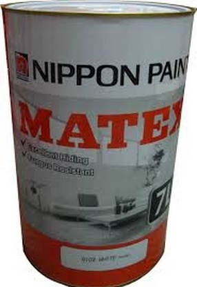 Nippon Paint Matex 7 Litre Emulsion paint for Interior Walls and Ceilings