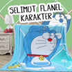 JUAL MURAH BAHAN SELIMUT FLANEL KARAKTER ANAK ~SUPER HALUUSSS LEMBUT BANGET + MOTIF TERBARU