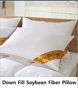 [HELLENSTEIN] DOWM PILL SOYBEEN FIBER PILLOW /  SPECIAL PREMIUM KOREA HOTEL BEST. 1 / soybean fiber