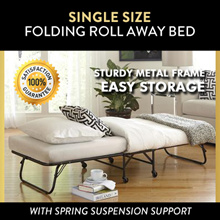 Single Size Folding Bed | Hotel Style Foldable