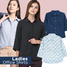 New Collection Joe fresh Ladies Office Shirts/7 Motif/Kemeja Wanita /Kemeja Kasual