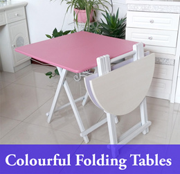 SQUARE Colorful Folding Foldable Portable Table /Picnic Table /Study Table /Camping /Outdoor /Coffee