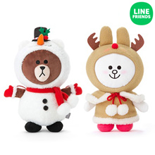 [LINE FRIENDS] CHRISTMAS DOLL
