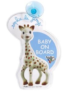 "[iroiro] Vulli Giraffe's Sophie ""-"" / Baby Safety Signs 22cm 470213"