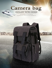 Authentic Camera Bag Tigernu Multi-functional 15.6 Camera Backpack T-X6008 SG Stock