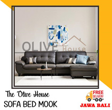[New Item] Set Sofa Bed Mook Grey 4P