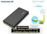 Pineng PN- 951 PN951 PN 951 10000mAh Power Bank (Shake and Start) - 1 Year Warranty
