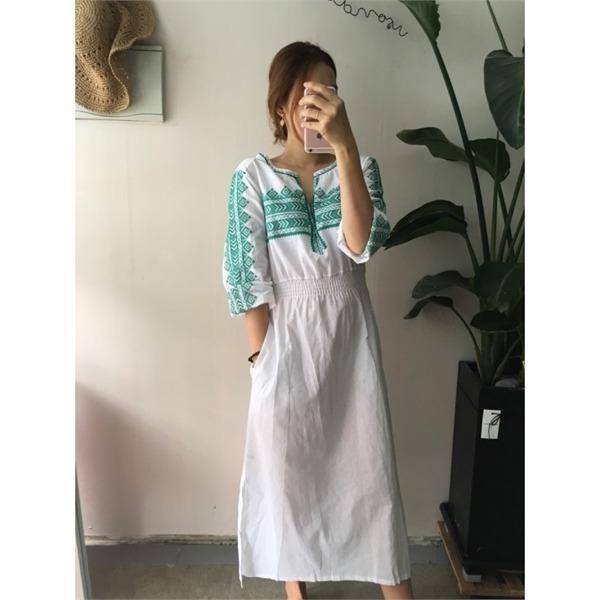 つけたワンピースnew ロング/マキシワンピース/ワンピース/韓国ファッション