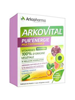 Arkopharma Arkovital Pur Énergie 60 Capsules 366