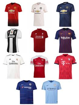 2f098cbbd6a Football Jersey-New Season 2018 2019 Jersey for Men- Juventus  Liverpool