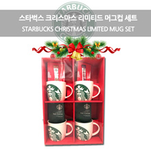★ App coupon $ 23 ★ Starbucks Christmas Limited Limited Edition mugs set of 4 / Tumbler set of 2 / Coffee / Cocoa samples included