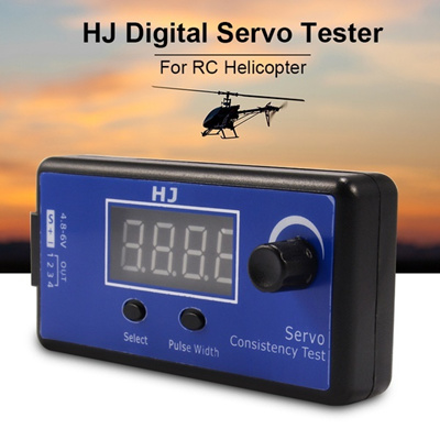 XCSOURCE HJ Digital Servo Tester/ESC Consistency Tester for RC Helicopter  Airplane RC188 (Size: for