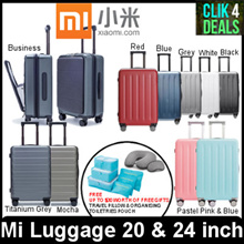 Xiaomi Mi Luggage / Travel Suitcase / 20 inch / 24 inch /FREE Travel Pillow and FREEToiletries Pouch