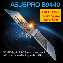 Asus Worlds lightest 14 business notebook Military grade reliability only 1.05kg. i5/ i7 Laptop