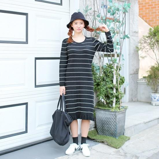 クルリクエンミセレクションワンピース プリントのワンピース/ 韓国ファッション
