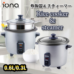 【12 Months Local Warranty】IONA GLRC03/GLRC061 0.3L/0.6L Rice Cooker