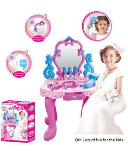 Brand New Premium Kids Beauty Makeup Dresser Table Set. Local SG Stock and warranty !!
