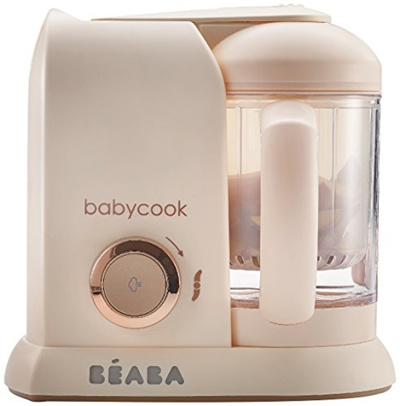 2637aa8d9601d Beaba BEABA Babycook Pro- Dishwasher Safe Baby Food Maker-Cooks Processes