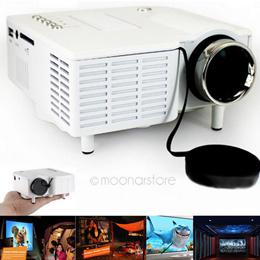 UC28 Home Mini Portable Digital LED Projector 320 x 240 Native Resolution 16:9 Aspect Ratio Supports