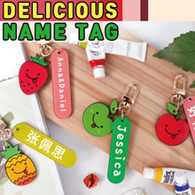 Delicious Name Luggage Tag / DIY gift LOVERS gift / Name Tag