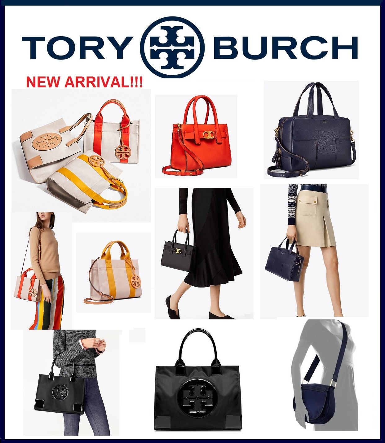 b3d6f3893 Show All Item Images. close. actual size. prev next. *SALE*-Tory Burch  Block-T Satchel Handbag Gemini Link Tote ...
