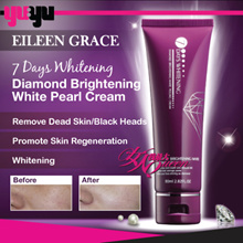[Eileen Grace] 7 Days Whitening SERIES ♥ Diamond Brightening-White Peeling Cream ♥ Remove Dead Skin
