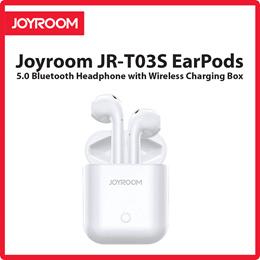 Joyroom JR-T03S EarPods 5.0 Bluetooth Headphone with Wireless Charging Box