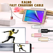KALNO ★ Fast Quick Charge charging USB Cable data  - MICRO USB DATA  CHARGING [ Android / Iphone ]