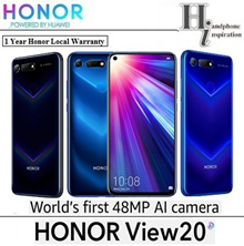 Honor View 20 256GB+8GB/128GB+6GB/48MP AI Camera/Android 9/1 Yr Local Singapore Warranty